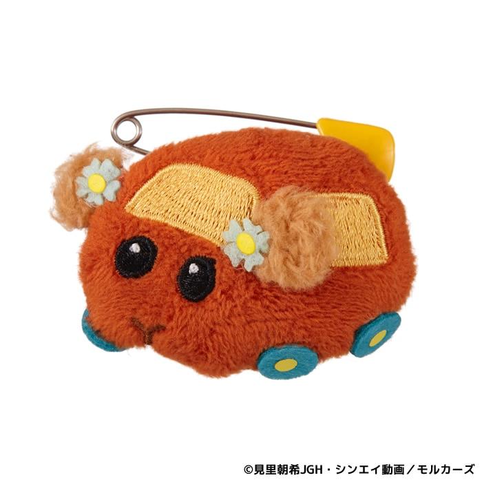 【予約商品】【ネコポス可】PUI PUI モルカー ぬいバッジ チョコ
