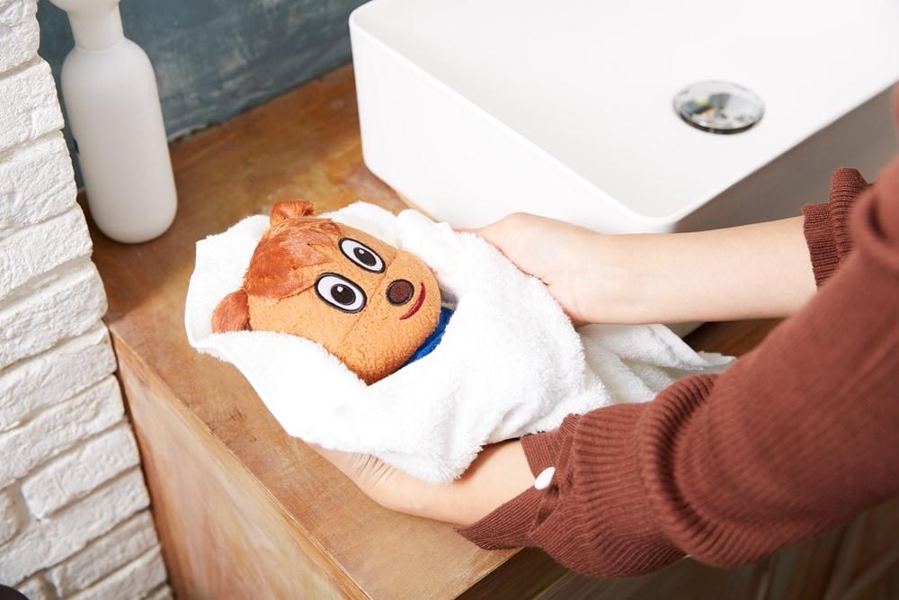 洗えるぬいぐるみシリーズ 洗い方の写真 STEP4