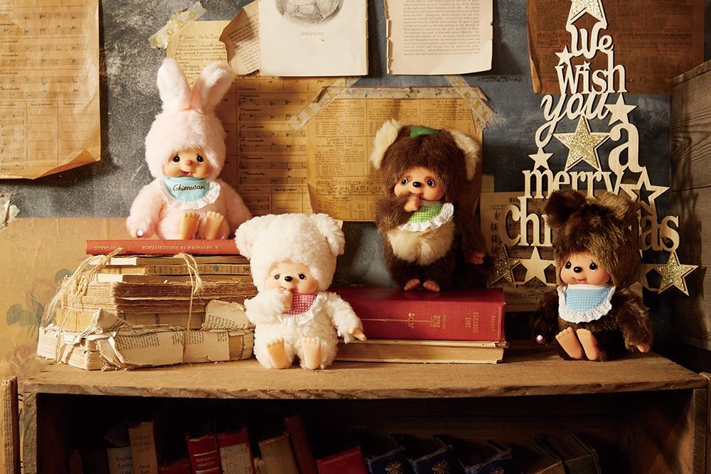 クリスマス特集 Monchhichi Friends