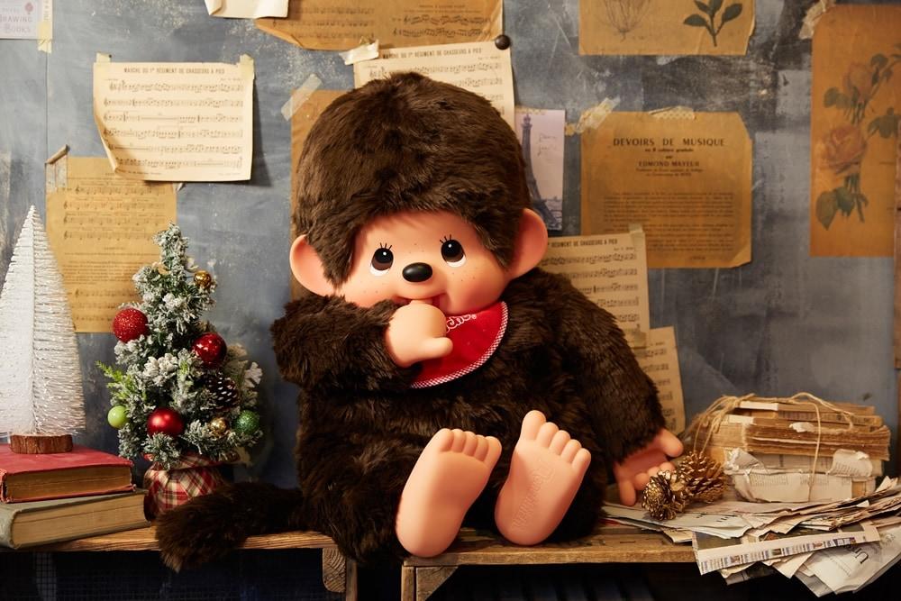 クリスマス特集 プレミアムスタンダードモンチッチ 2Lサイズ ブラウン 男の子