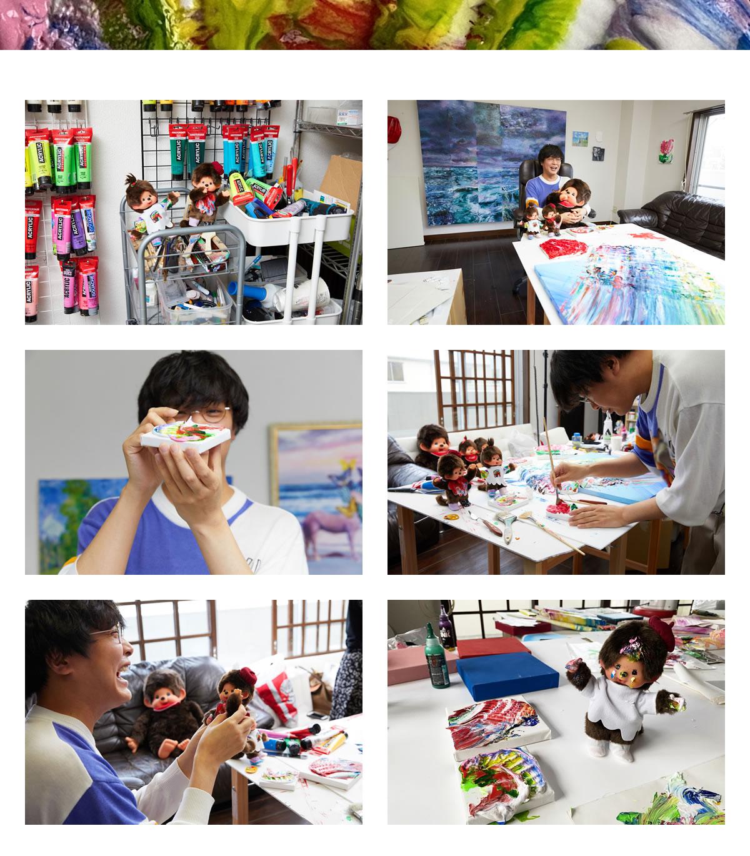 杉田陽平×モンチッチ 写真6