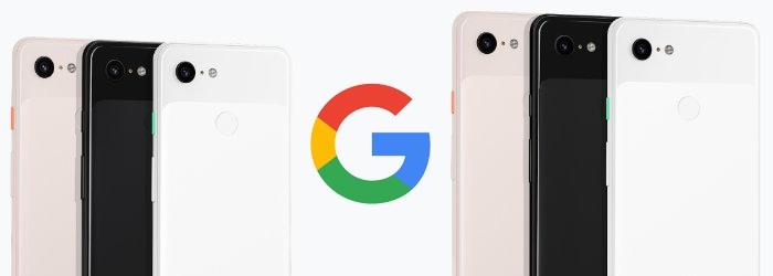 Google Pixel 3、Pixel 3 XL