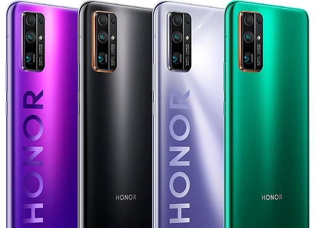 Huawei Honor 30 Pro カラーバリエーション