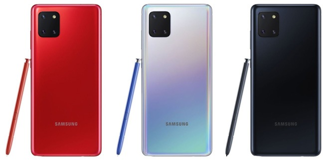 Samsung Galaxy Note 10 Lite 3Color