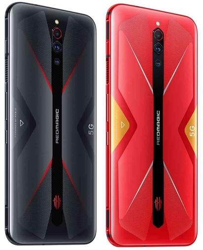 ZTE Nubia RedMagic 5G カラーバリエーション