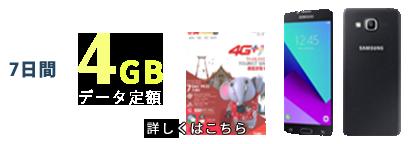 7日間 4GB データ定額
