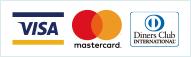 VISA・MASTERCARD・Dinersでのクレジットカード決済が可能です