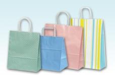 シンプル柄手提げ紙袋