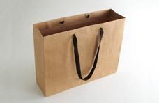 シンプル高級手提げ紙袋