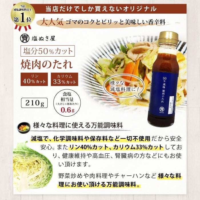 減塩調味料セット