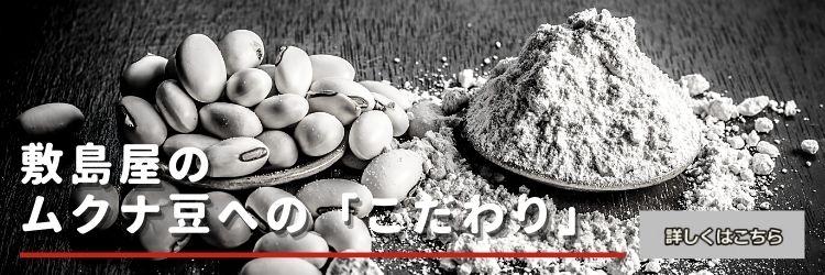敷島屋のムクナ豆