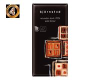 Bjornstedオーガニックチョコレート エクアドルダーク70%100g x 10枚入(冬季限定)