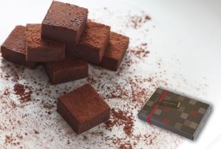 生チョコレート・ブランデー