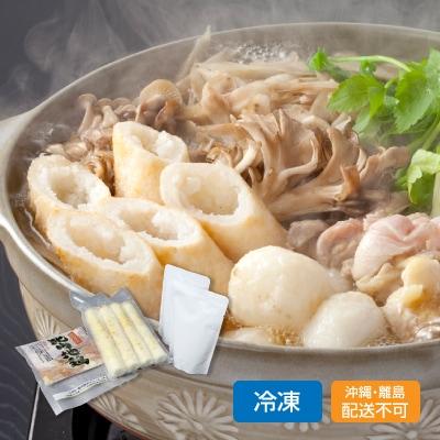 比内地鶏きりたんぽ鍋セット(3~4人前)