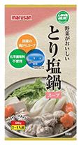 野菜がおいしいとり塩鍋スープ
