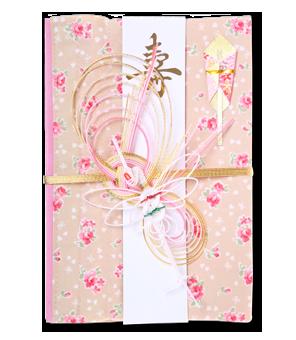 ご祝儀袋 結姫 白梅(コットン)香福小花