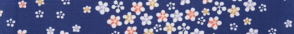 ご祝儀袋 結姫 musubime 赤松(シルク)藍色流花