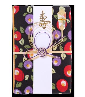 ご祝儀袋 結姫 青竹(ポリエステル)夜椿夢幻