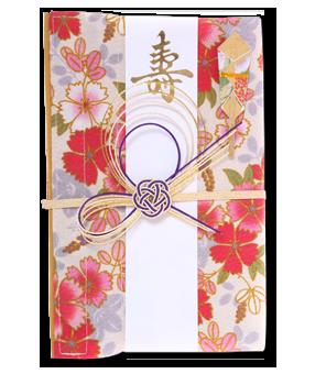 ご祝儀袋 結姫 青竹(ポリエステル)絢爛咲花