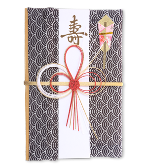 ご祝儀袋 結姫 青竹(ポリエステル)青海波琉