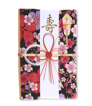 ご祝儀袋 結姫 青竹(ポリエステル)乙女艶桜