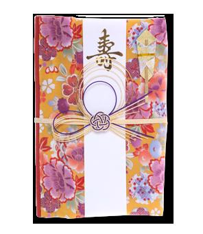 ご祝儀袋 結姫 青竹(ポリエステル)宝香鳳花