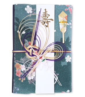 ご祝儀袋 結姫 赤松(シルク)緑花舞美