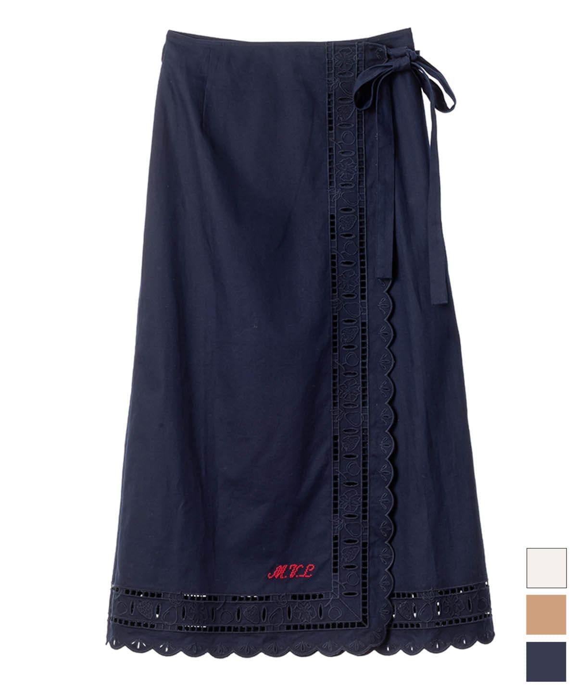 テーブルクロスレーススカート
