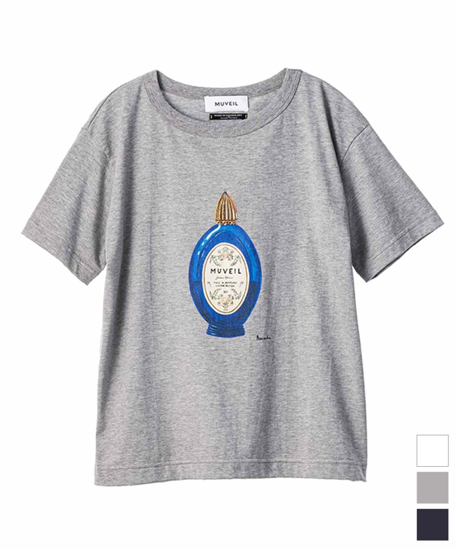 パフュームアートプリントTシャツ