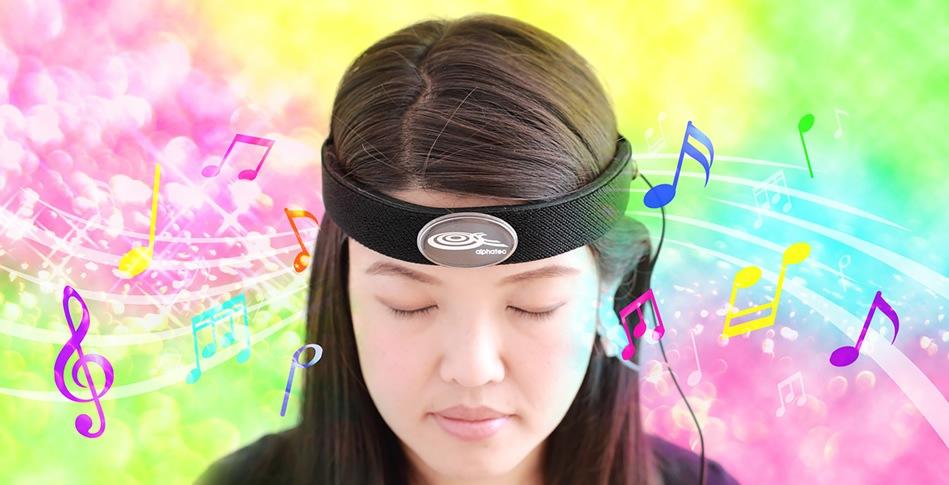 音楽・動画を用いてニューロフィードバックトレーニング