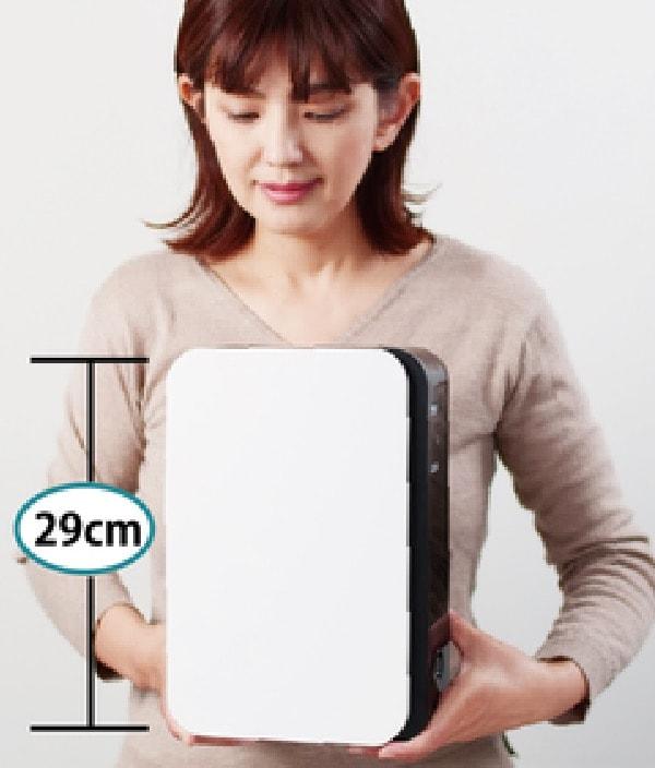 世界最小最軽量(A4サイズ)