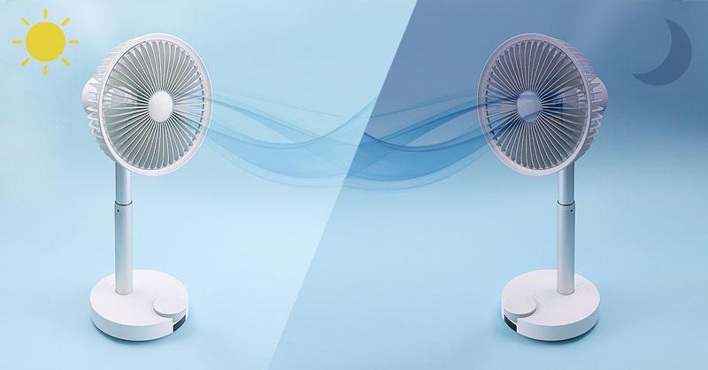ポータブル扇風機(携帯扇風機)の選び方「連続動作時間」
