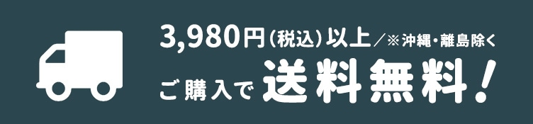 税込5,000円以上ご購入で送料無料