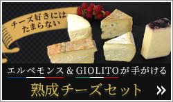 熟成チーズセット