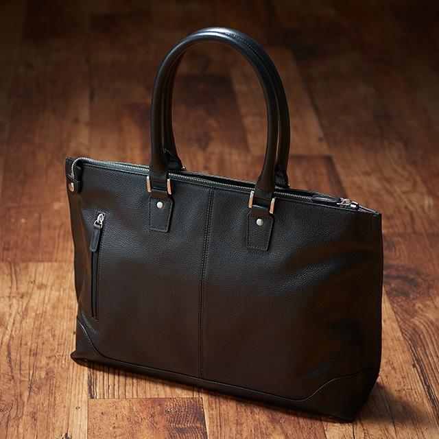 黒のビジネストートバッグ