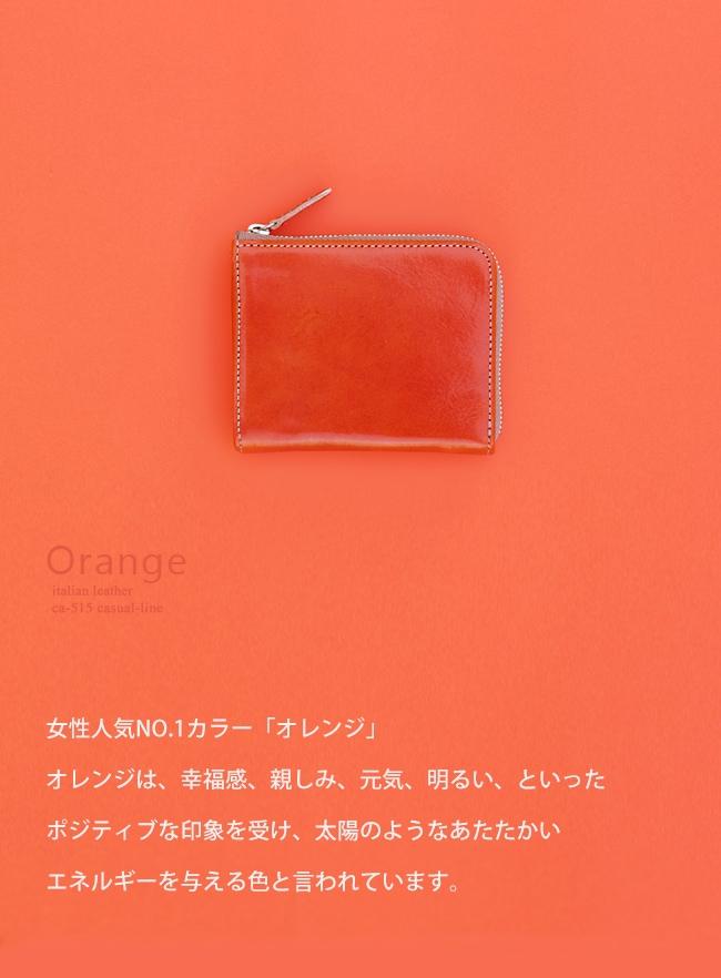 オレンジカラーの説明