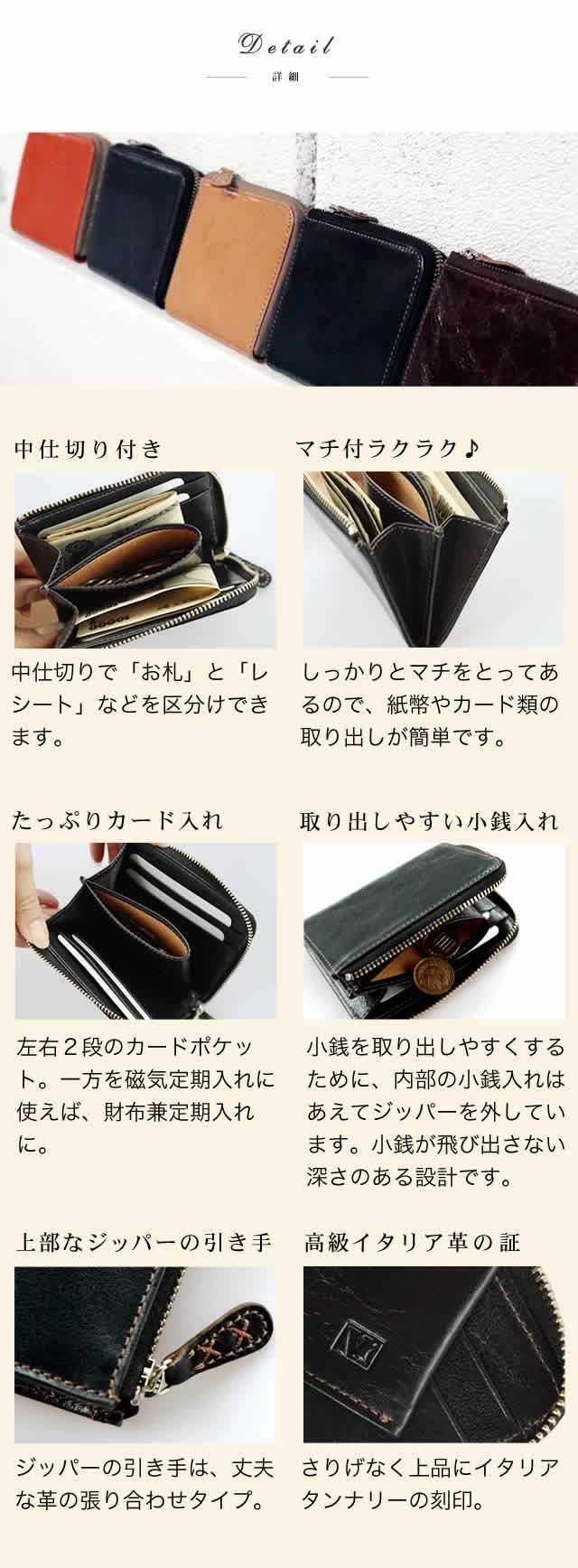 財布の詳細説明