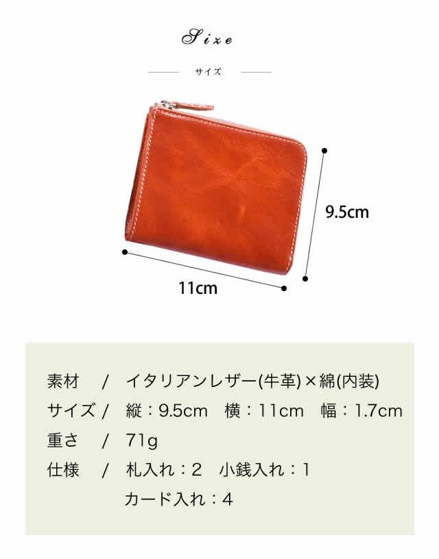財布のサイズ詳細