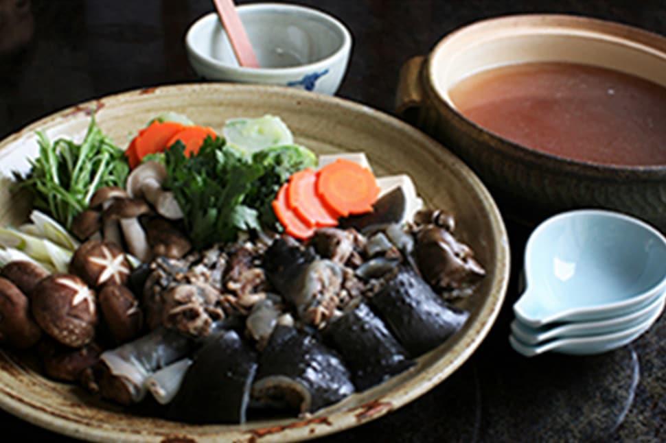 山のよろこび お宿 栄太郎 すっぽん料理