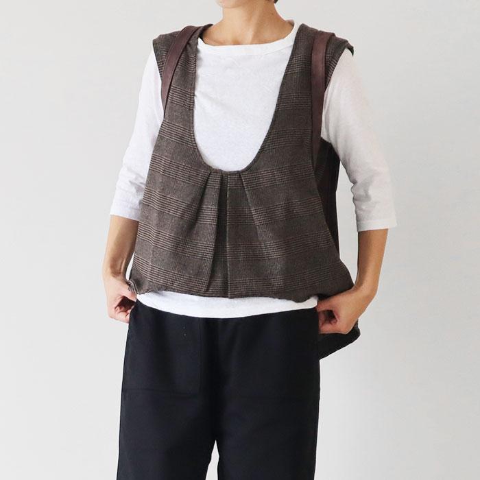 NARU(ナル) 612000 ムラ糸リサイクル天竺7分袖Tシャツ