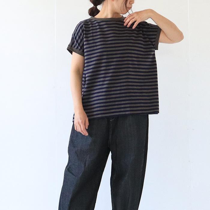 """ボーダーTシャツ""""minami"""" 619141"""