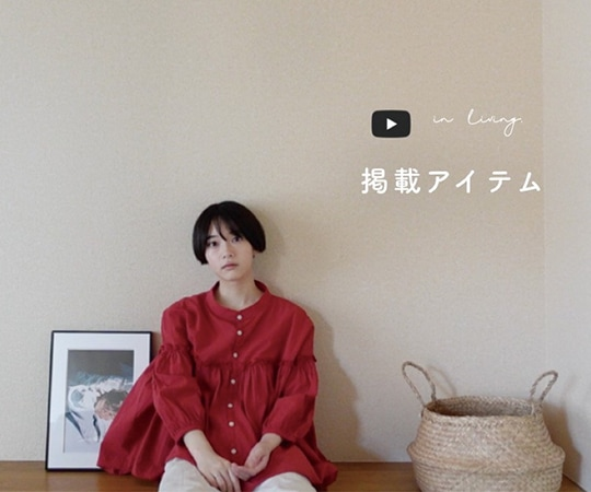 >【YouTube登録者数40万人】in living. 掲載アイテム