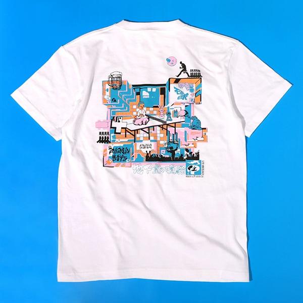 ライブイベント「地下室の喧騒」 石野卓球 / ZAZEN BOYS Tシャツ