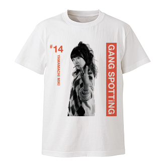WACK×Deadman GANG SPOTTiNG Tシャツ(GANG PARADE) YAMAMACHI MIKI