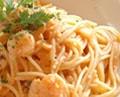 海老のトマトクリームソース:画像