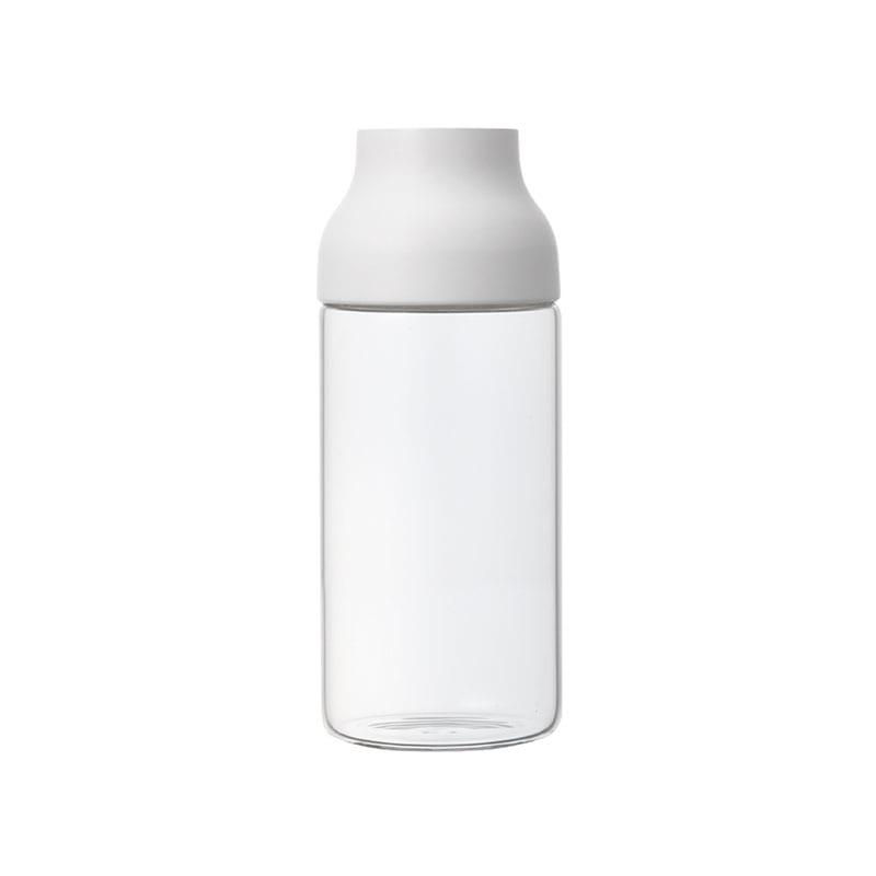 KINTO キントー CAPSULE ウォーターカラフェ 0.7L ホワイト  ピッチャー お茶ポット ポット カラフェ 耐熱ガラス ガラス製 耐熱 ジャグ 麦茶ポット 1リットル