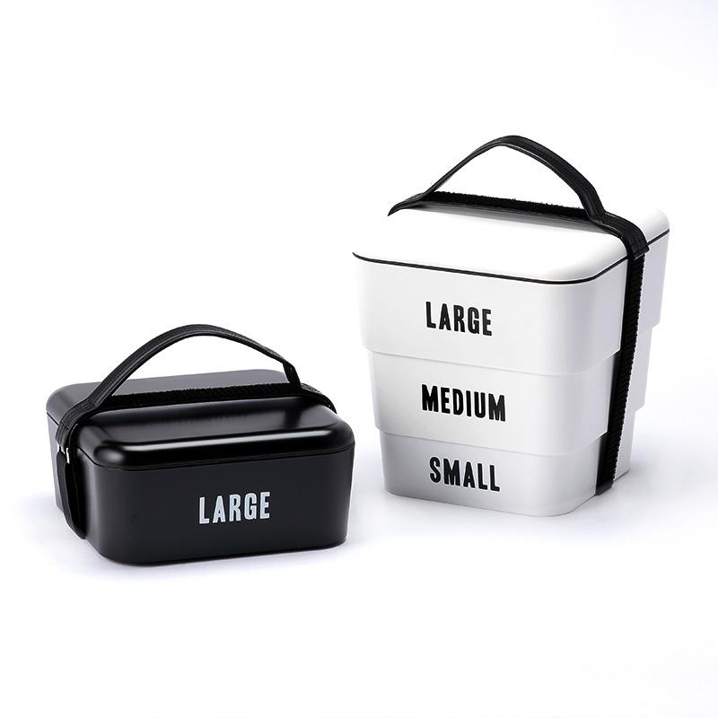 Floyd フロイド ラベルド スタッカブルボックス  重箱 3段 三段 お弁当箱 日本製 おしゃれ ランチボックス 運動会 行楽 ピクニック アウトドア レジャー ギフト プレゼント
