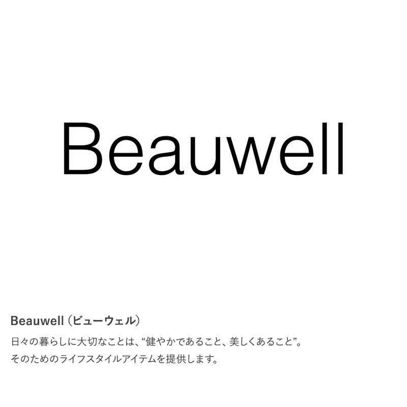 Beauwell ビューウェル みんなにちょうどいい加湿器  加湿器 超音波 上部給水 アロマ おしゃれ 上から給水 シンプル リビング 寝室 自動停止