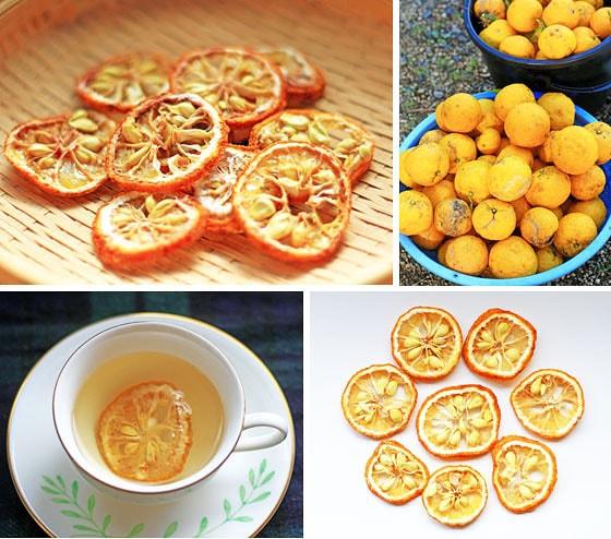 無農薬・無肥料の自然栽培、西日本産のドライ柚子