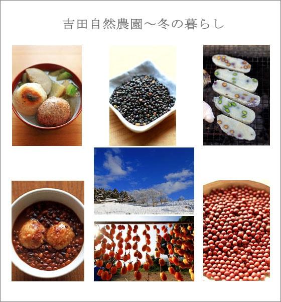 無農薬・無肥料、吉田自然農園による自然栽培の冬